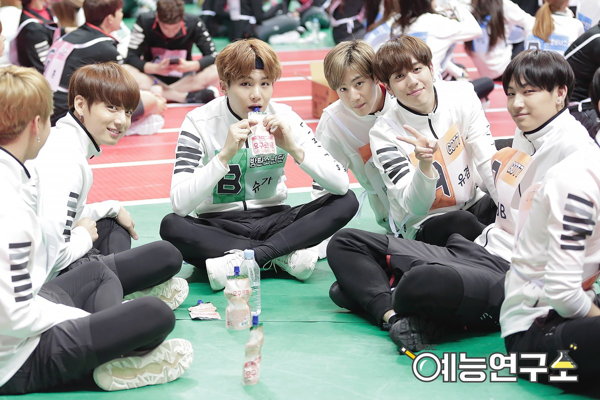 "BTS, GOT7, TWICE, And More Feature In Archery Photos And Videos To Fans From ""Idol Star Athletics Championships"""
