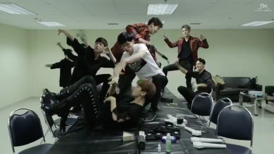 """Watch: EXO And Yoo Jae Suk Get Silly In New SM STATION Teaser For """"Dancing King"""""""