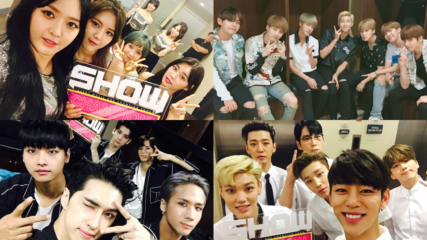 """Watch: BTS, VIXX, AOA, B.A.P, And More Perform At """"Show Champion"""" Concert In Manila"""