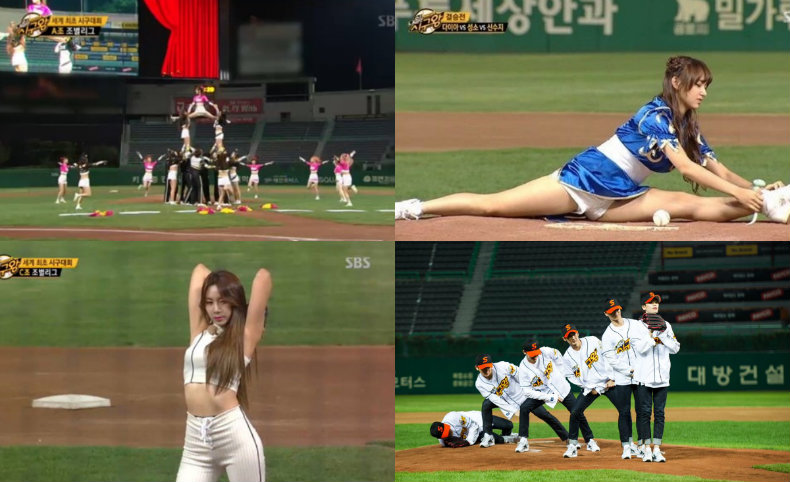 """Teen Top, Cosmic Girls, DIA, Apink, and More Compete To Be """"Pitch King"""""""