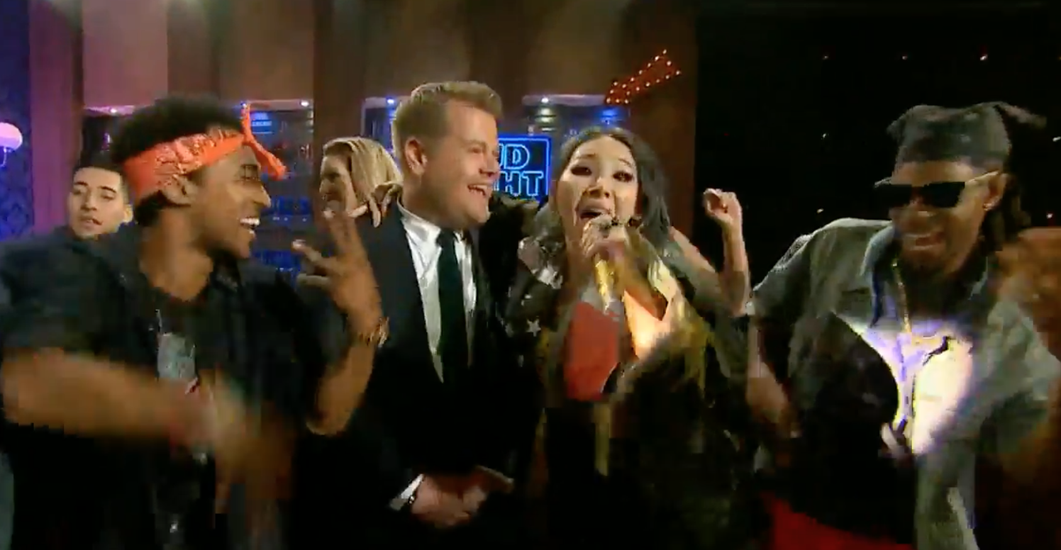"""Watch: CL Performs """"Lifted"""" On The Late Late Show With James Corden"""