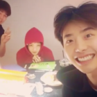 Lee Jong Suk, Yoon Kyun Sang, And Lee Sung Kyung Are Totally Adorable Studying Together