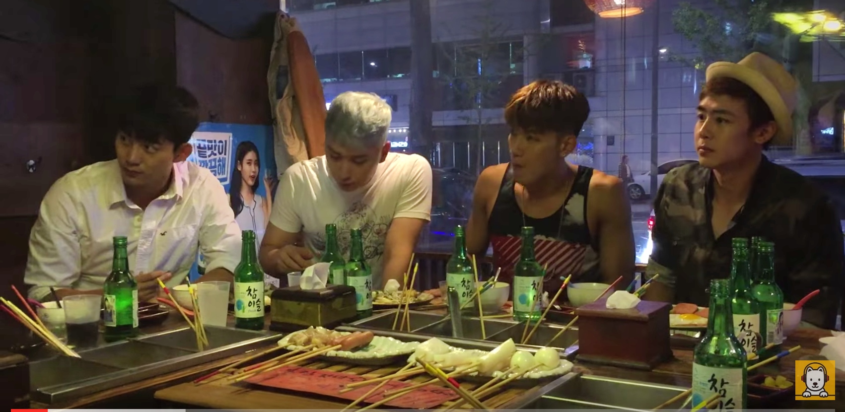 """Watch: 2PM Performs Live Acoustic Cover Of """"Promise"""" Over Soju And Korean BBQ"""