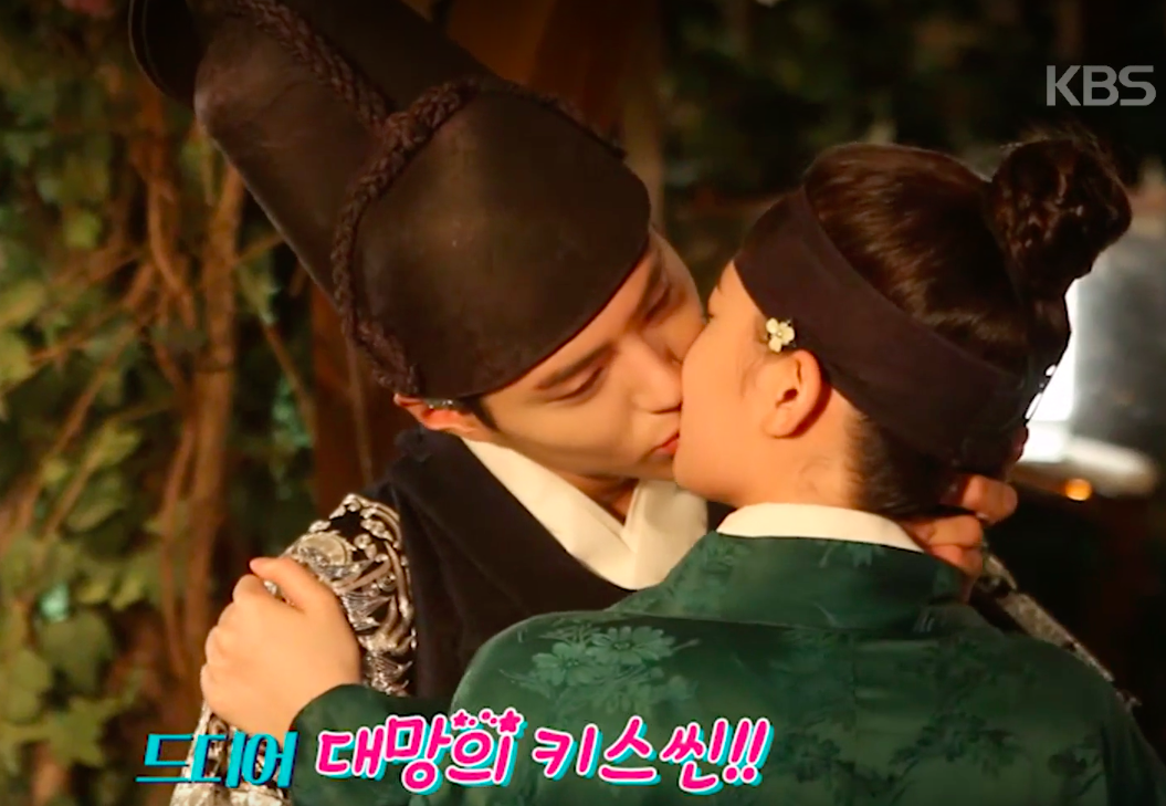 Watch: Park Bo Gum Is Bashful And Embarrassed After Kiss Scene With Kim Yoo Jung