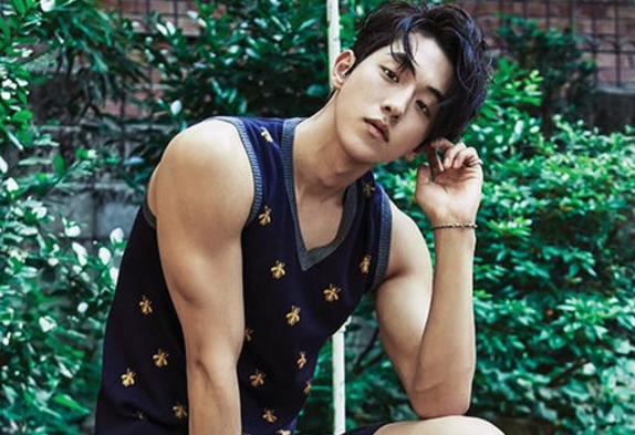 Nam Joo Hyuk Flaunts His Killer Shoulders During A Trip To Thailand