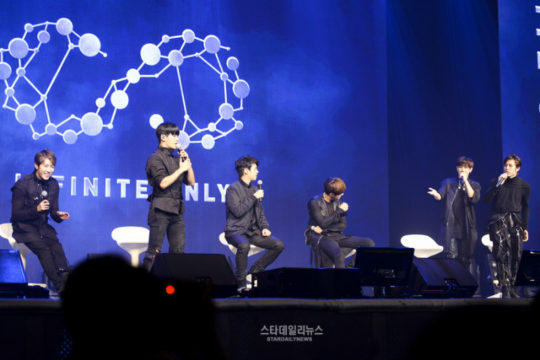 infinite showcase the eye