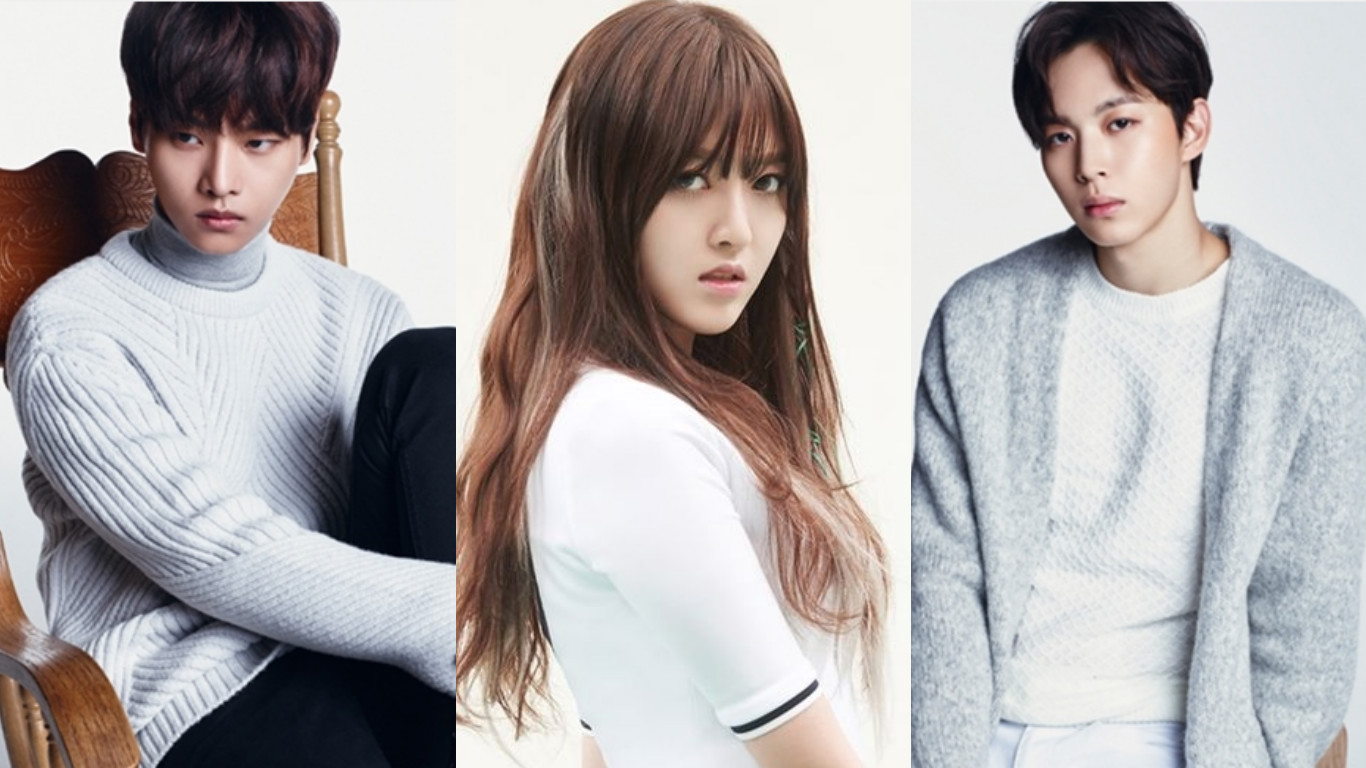 VIXX's N And Hongbin Cast Along AOA's Chanmi In Web Drama