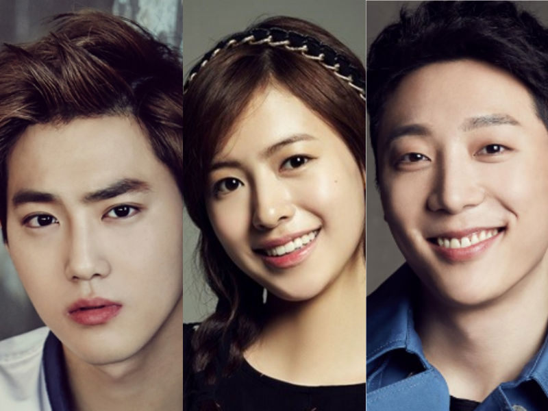 EXO's Suho Is Joined By Ji Woo And Shin Hyun Soo In New Drama