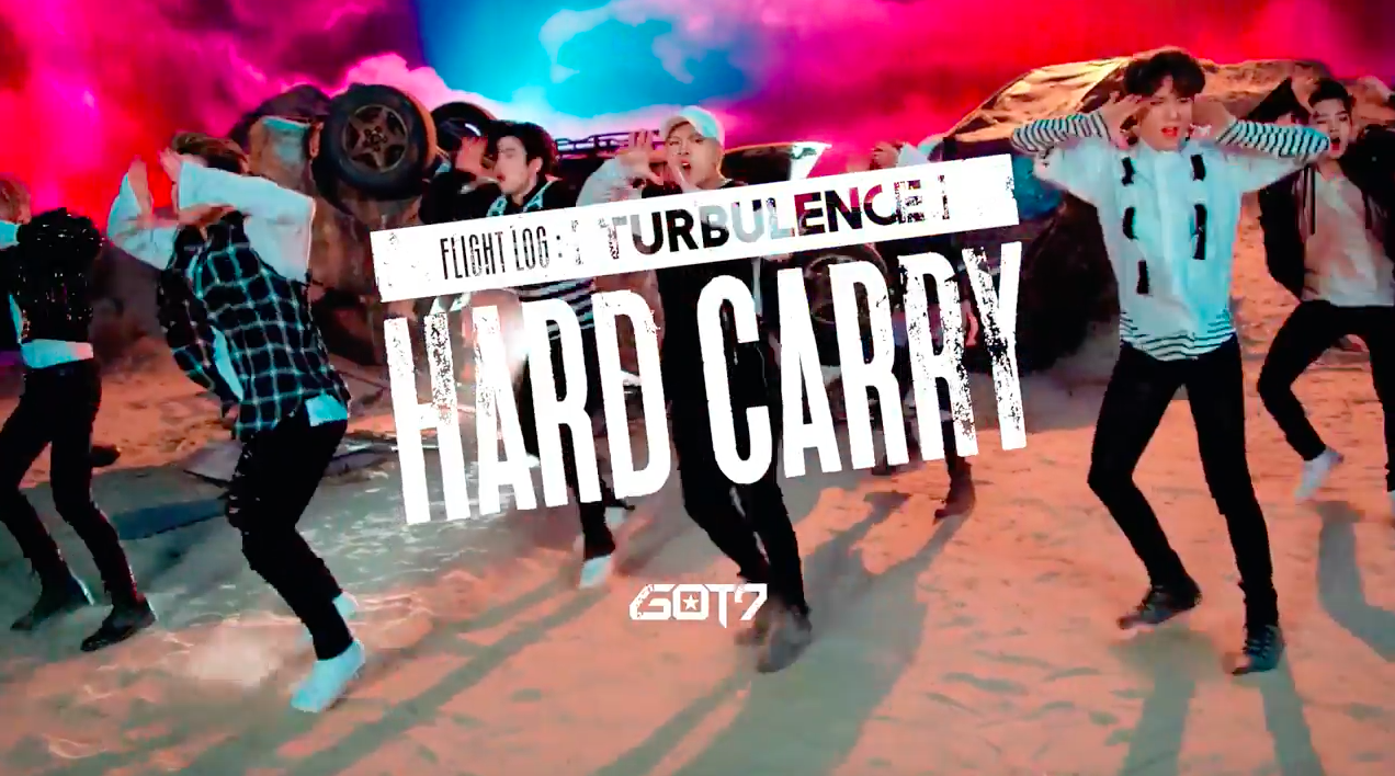 """Watch: GOT7 Drops Choreography Teaser Video For """"Hard Carry"""""""