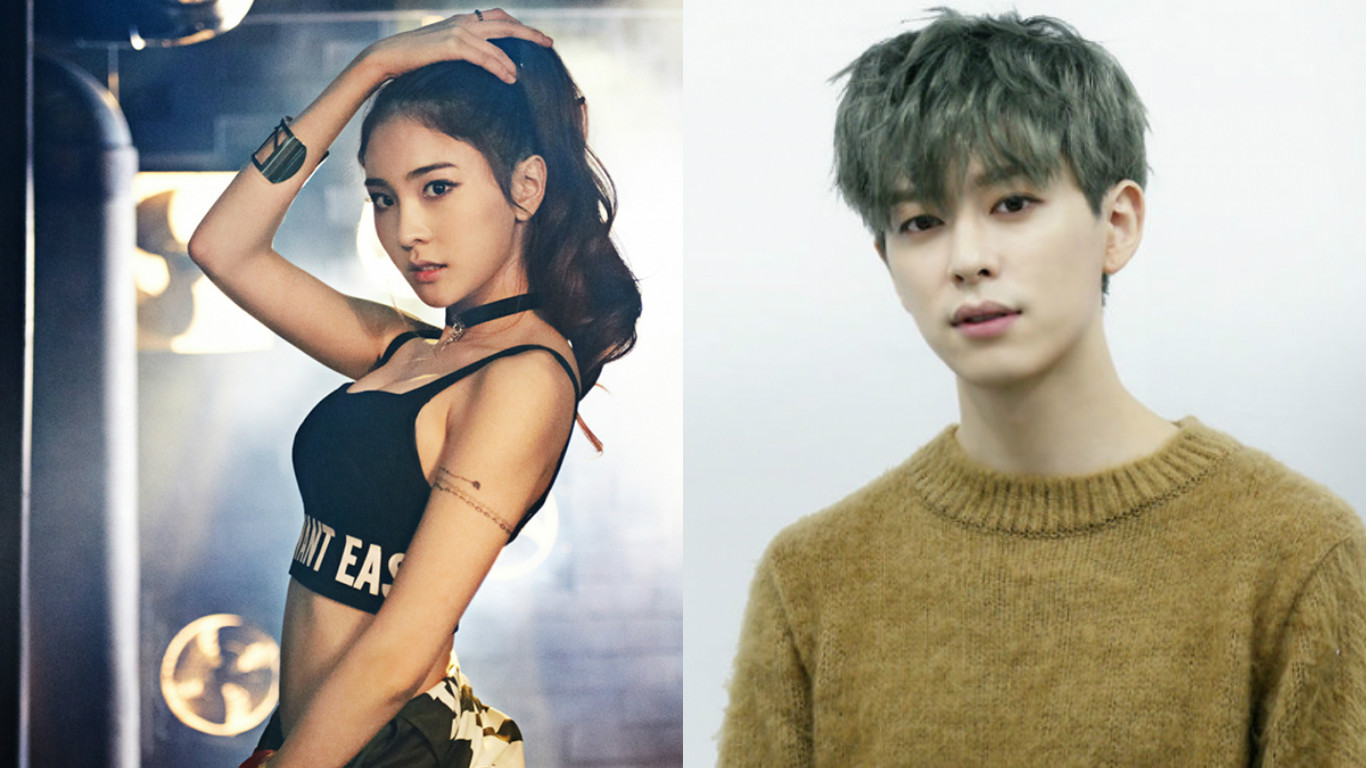 sonamoo nahyun boyfriend donghyun