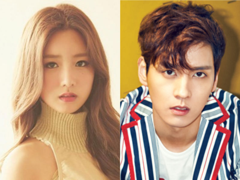 """Apink's Bomi And Choi Tae Joon Confirmed As New """"We Got Married"""" Couple"""