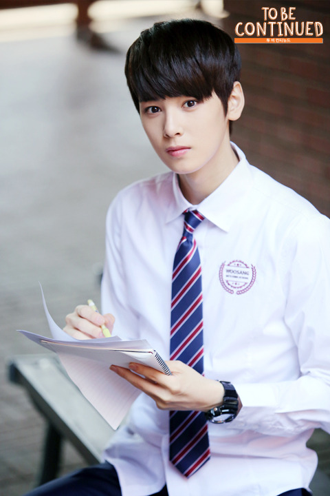 ASTRO's Cha Eun Woo Is The Perfect University Oppa You've Dreamed Of