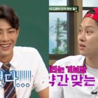 """Ji Soo Gets Teased Mercilessly About The Nature Of His Bromance With Nam Joo Hyuk On """"Ask Us Anything"""""""