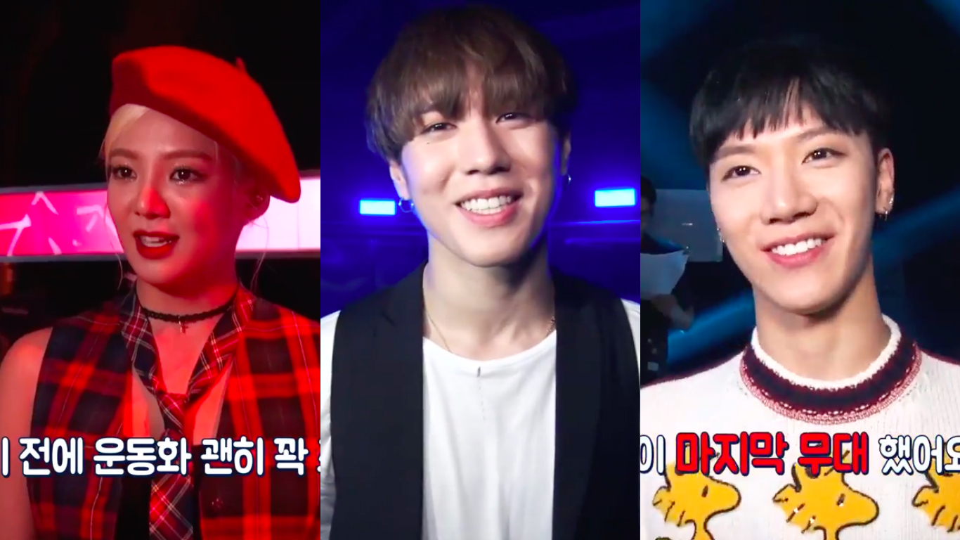 "Watch: Hyoyeon, Yugyeom, Ten, And More Share Their Feelings Ahead Of ""Hit The Stage"" Season Finale"