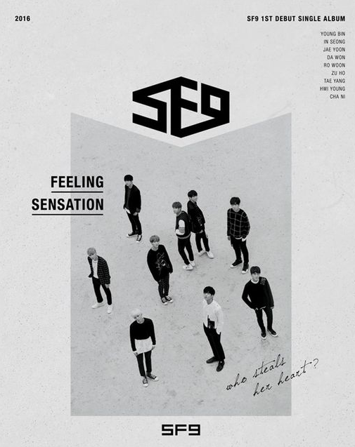 """SF9 Teases Upcoming Debut With New Images For """"Feeling Sensation"""""""