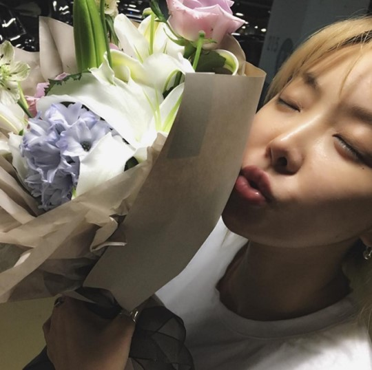Brown Eyed Girls' Narsha Thanks Fans For Support Following Marriage Announcement