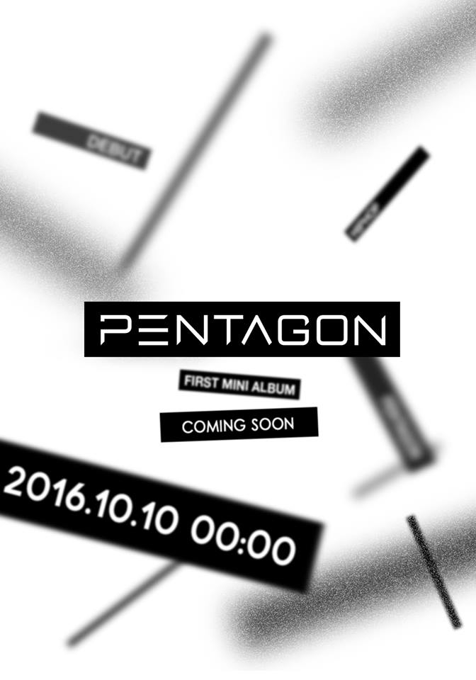 Cube Entertainment's New Boy Group PENTAGON Confirms Debut Date