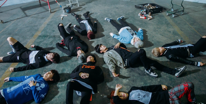 "Watch: SF9 Is In A Daze In Teaser Video For Debut With ""Fanfare"""