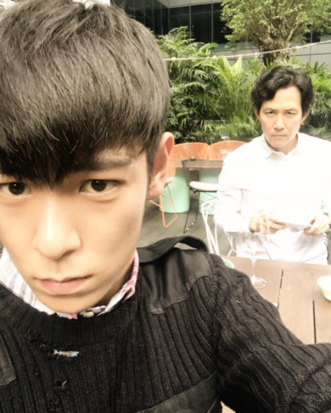 T.O.P And Lee Jung Jae Look Selfie-Perfect In New Picture