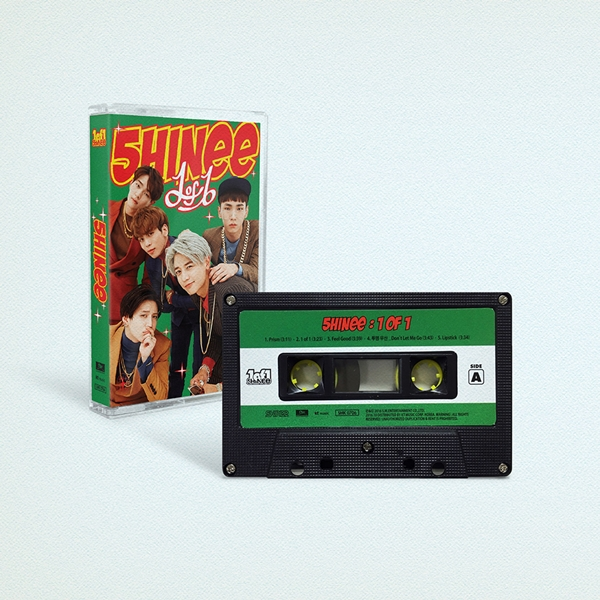 SHINee Shares Preview Of Limited Edition Cassette Tape Album And More Comeback Details