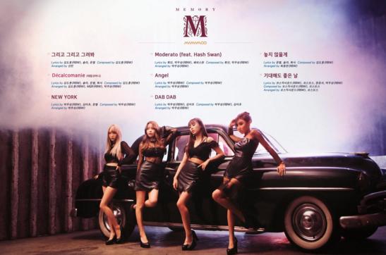 """Update: MAMAMOO Releases """"Memory"""" Mini-Album Tracklist For Comeback"""