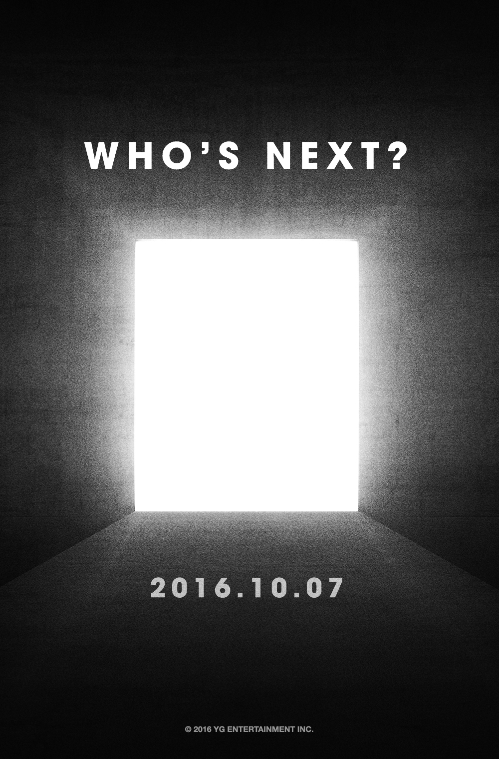 YG Teases Who's Next For An October Release