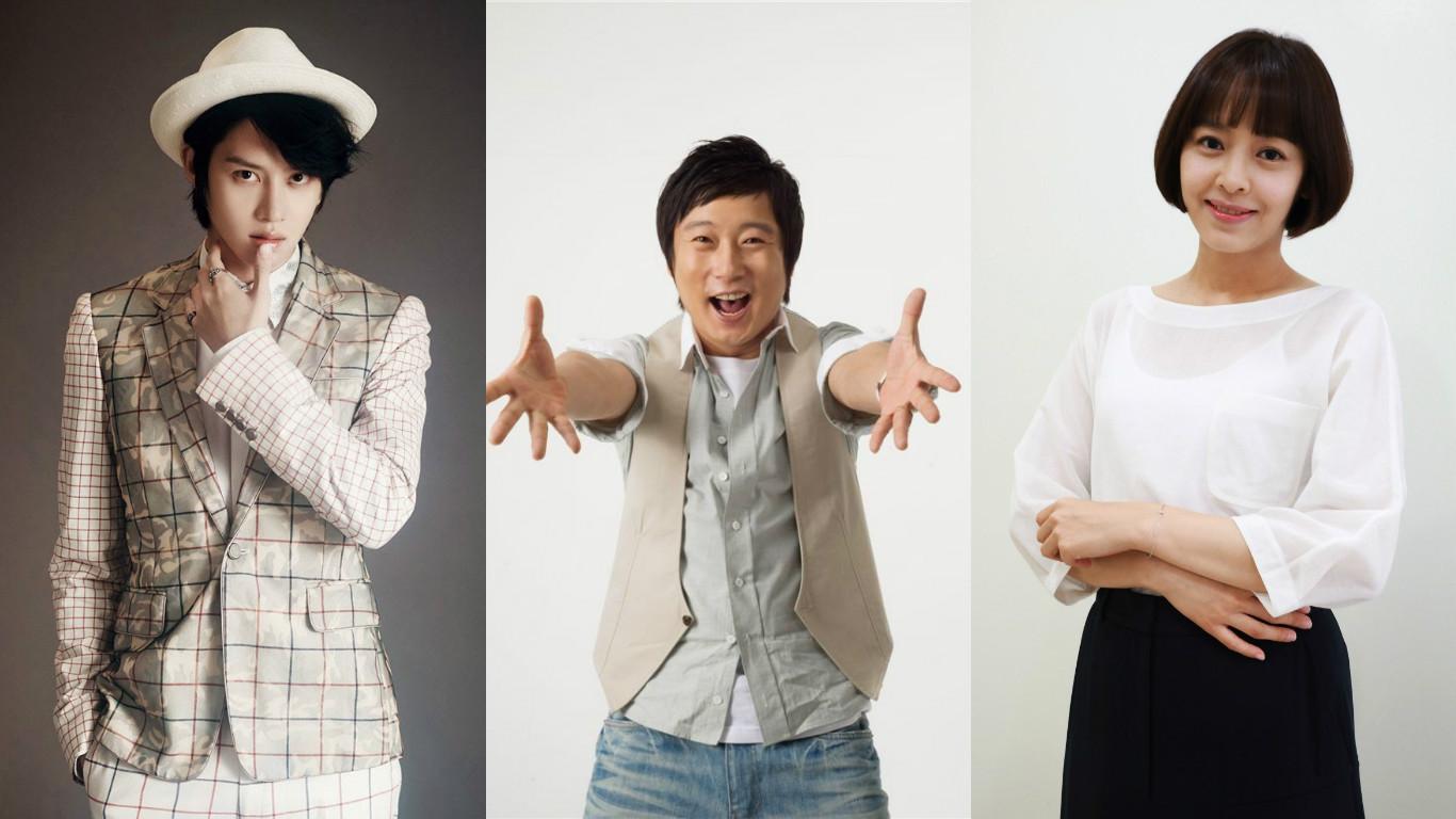 Kim Heechul, Lee Soo Geun, and Kang Sung Yun To Host New Music Variety Show