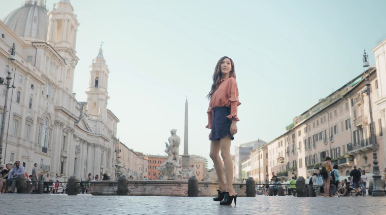 Watch: Girls' Generation's Tiffany Spends A Magical Day In Rome With Fendi