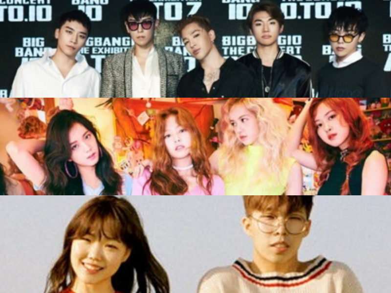 BIGBANG, BLACKPINK, And Akdong Musician Reportedly Making Comebacks In November