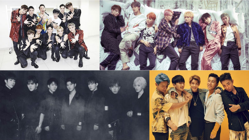 October Boy Group Brand Reputation Rankings Revealed