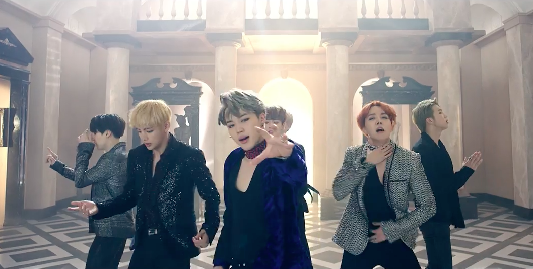 "Watch: BTS Returns With Spellbinding ""Blood Sweat & Tears"" MV"