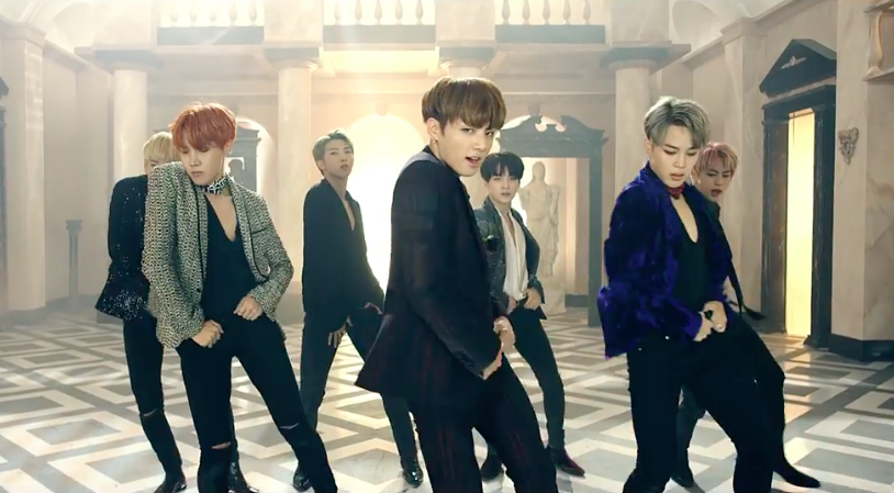 """BTS Achieves All Kill With """"Blood Sweat & Tears,"""" Takes Over Charts With """"WINGS"""""""