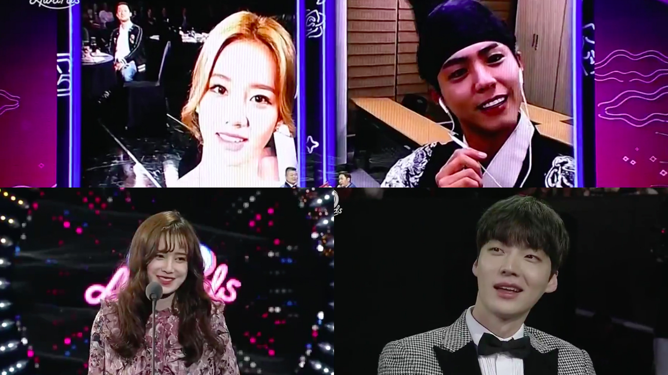 Park Bo Gum And Hyeri, Ahn Jae Hyun And Ku Hye Sun, And More Feature In Fun Moments During tvN's Party-Like Award Show
