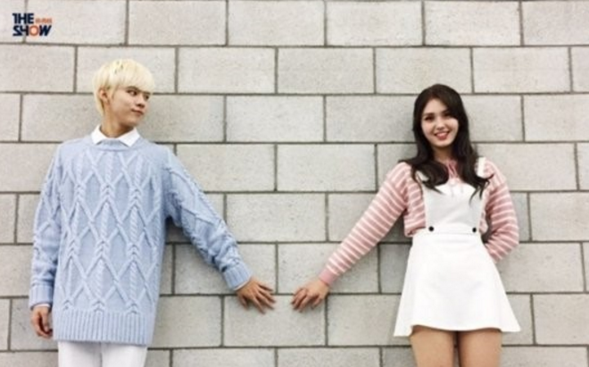 """I.O.I's Jeon Somi And UP10TION's Wooshin To Perform Special Stage On """"The Show"""""""