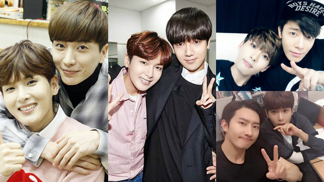 Super Junior's Leeteuk, Yesung, Donghae, Zhou Mi, And More