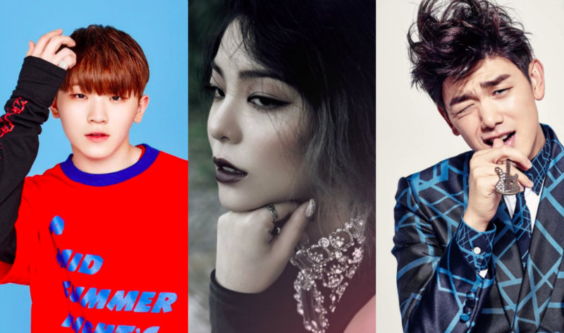 WOOZI, AILEE, AND ERIC NAM