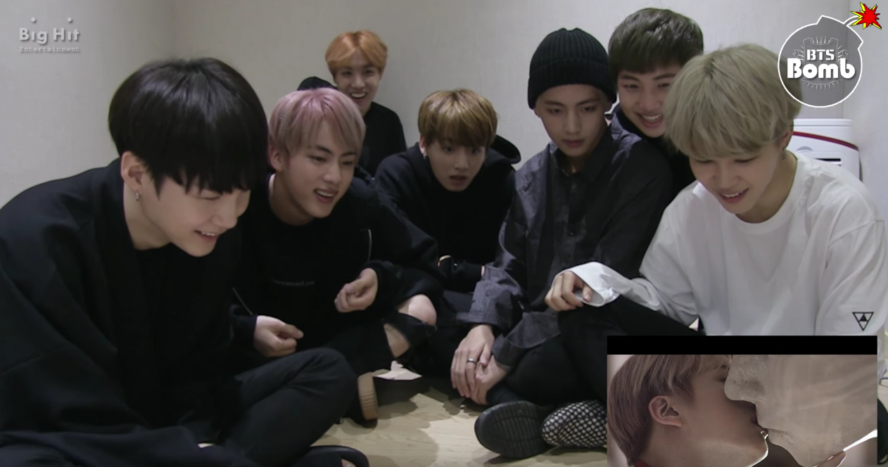 """Watch: BTS's Reaction To Their """"Blood Sweat & Tears"""" MV Is Utterly Precious"""