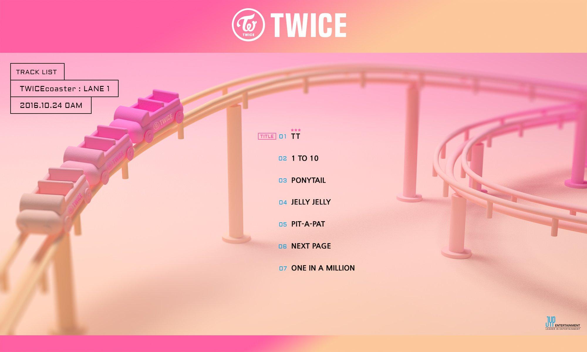 twice track list