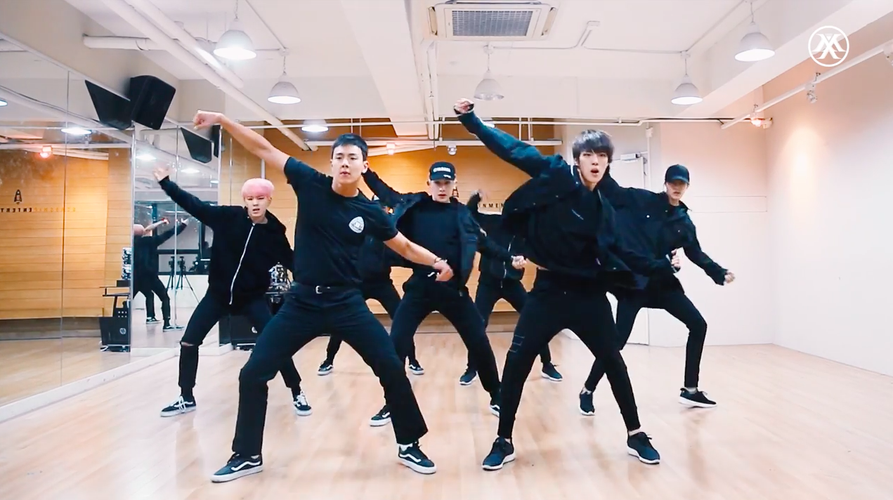"""Watch: MONSTA X Goes Hard In Dance Practice Video For """"Fighter"""""""