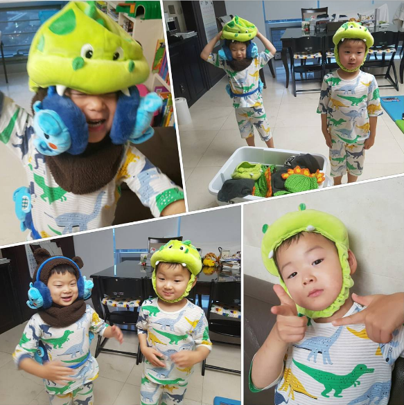 Minguk And Manse Can't Wait For Winter To Wear Their Awesome Hats