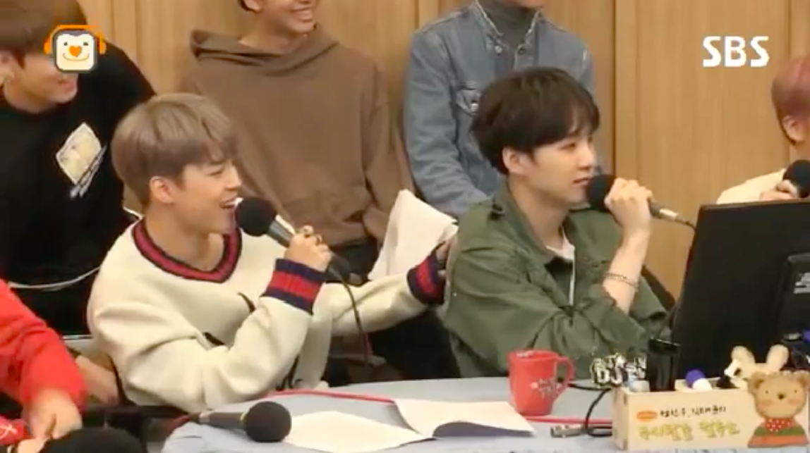 """BTS's Jimin Explains Suga's Adorably Fitting Childhood Nickname On """"Cultwo Show"""""""