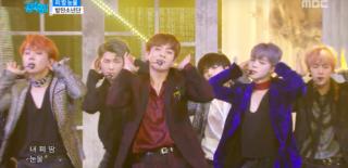 BTS stage