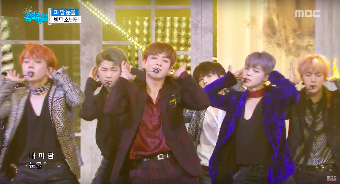 """Watch: BTS, SHINee, Davichi, And More Perform On """"Music Core"""""""