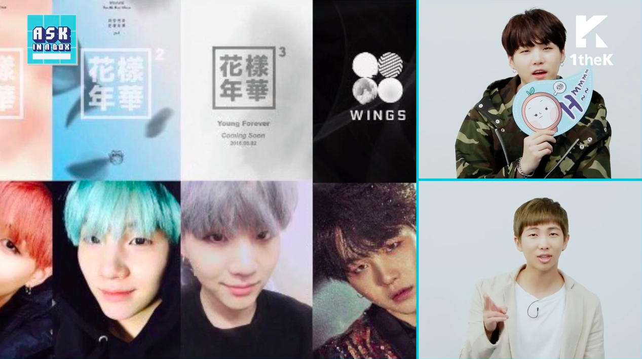 Watch bts suga responds to fan theory about his hair color watch bts suga responds to fan theory about his hair color matching their album covers geenschuldenfo Images