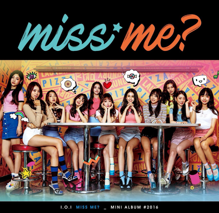 "Updated: I.O.I Releases Album Jacket Image For Comeback Mini-Album ""Miss Me?"""