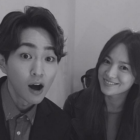 """Descendants Of The Sun"" Co-Stars Song Hye Kyo And Onew Coincidentally Reunite"