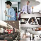 """On The Way To The Airport"" Films Scenes On A Real Airplane"