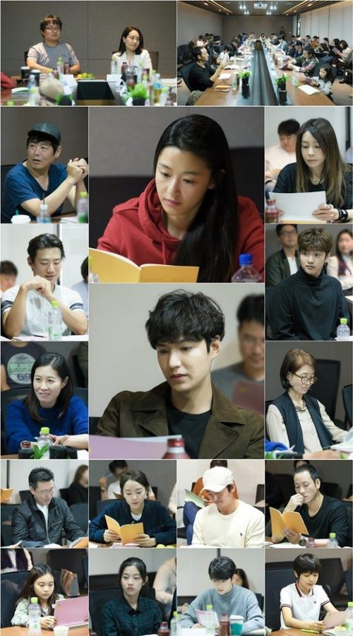 the legend of the blue sea table reading