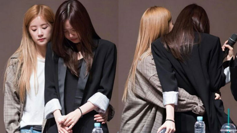 Apink's Son Naeun Cries After Hearing Encouraging Shouts From Fans