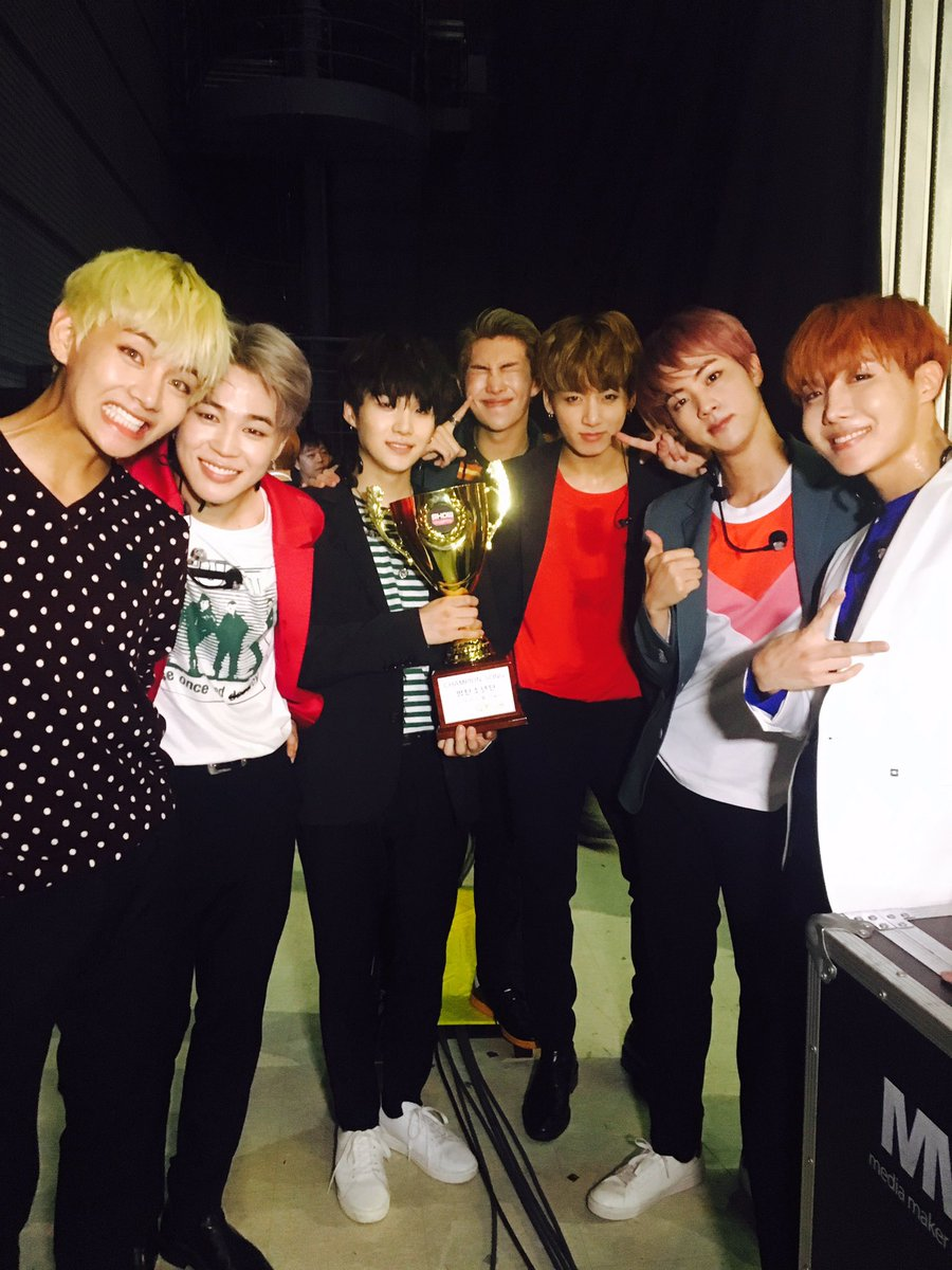 """Watch: BTS Takes 1st Win For """"Blood Sweat & Tears"""" On """"Show Champion,"""" Performances By I.O.I, MONSTA X, And More"""